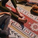 "DOIY YOGA MATS""Persian"" ヨガマット ペルシャ 赤 レッド かわいい おしゃれ 柄 ベルト バンド ケース付き 厚手 5mm …"