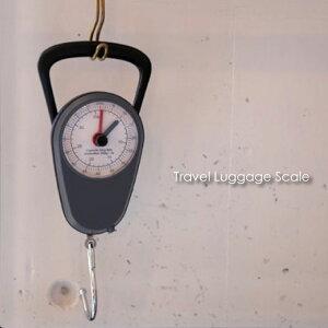 Travel Luggage Scale トラベルラゲッジスケール 荷物はかり 小型 旅行 アナログ メジャー付き