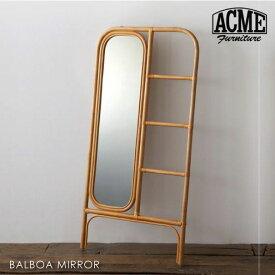 ACME FURNITURE BALBOA MIRROR バルボアミラー 鏡 ラタン 籐 家具 おしゃれ チェア 椅子 可愛い 北欧 西海岸 大きい 大型 姿見 全身 収納