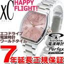 シチズン クロスシー CITIZEN xC エコドライブ ソーラー 電波時計 腕時計 レディース ハッピーフライト EC1100-56W