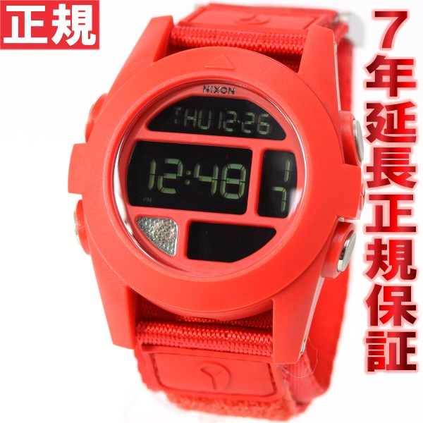 ニクソン NIXON バハ BAJA 腕時計 メンズ オールレッド 日本先行発売カラー デジタル NA489191-00【あす楽対応】【即納可】