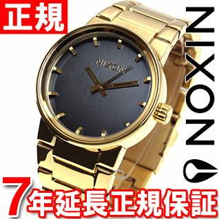 【1000円OFFクーポン!1月18日12時59分まで!】ニクソン NIXON キャノン CANNON 腕時計 メンズ オールゴールド/ブラック NA160510-00
