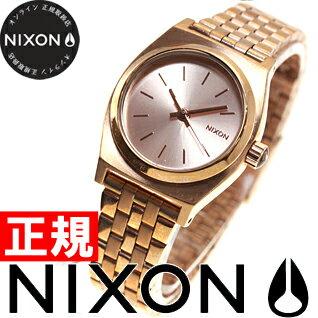 ニクソン NIXON スモールタイムテラー SMALL TIME TELLER 腕時計 レディース オールローズゴールド NA399897-00