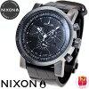 닉슨 NIXON 마그나콘레자 2 MAGNACON LEATHER II손목시계 멘즈크로노그라후브락크게이타 NA4581886-00