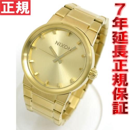 【1000円OFFクーポン!1月18日12時59分まで!】NIXON CANNON NA160502-00 腕時計 オールゴールド ニクソン