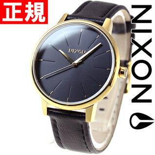 ニクソン NIXON ケンジントンレザー KENSINGTON LEATHER 腕時計 レディース ゴールド/ブラック NA108513-00