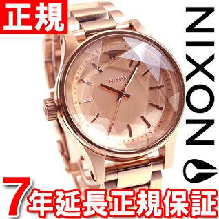 8月15日限定!最大2000円OFFクーポン配布中♪15日0時から16日9時59分まで! ニクソン NIXON ファセット38 FACET 38 腕時計 レディース オールローズゴールド NA409897-00