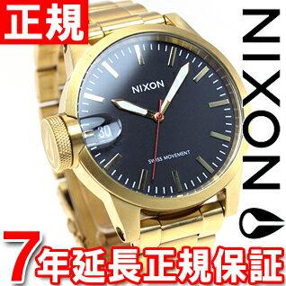 ニクソン NIXON クロニクル44 CHRONICLE 44 腕時計 メンズ オールゴールド/ブラック NA441510-00【あす楽対応】【即納可】