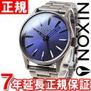 ニクソン NIXON セントリー38 SS SENTRY 38 SS 腕時計 メンズ/レディース ガンメタル/コバルトサンレイ NA4502065-00