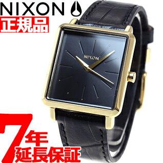 ニクソン NIXON K スクエアード K SQUARED 腕時計 レディース ゴールド/ブラックゲーター NA4722022-00