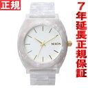 ニクソン NIXON タイムテラーアセテート TIME TELLER ACETATE 限定モデル 腕時計 レディース/メンズ ホワイトグラニット/ゴールド NA...