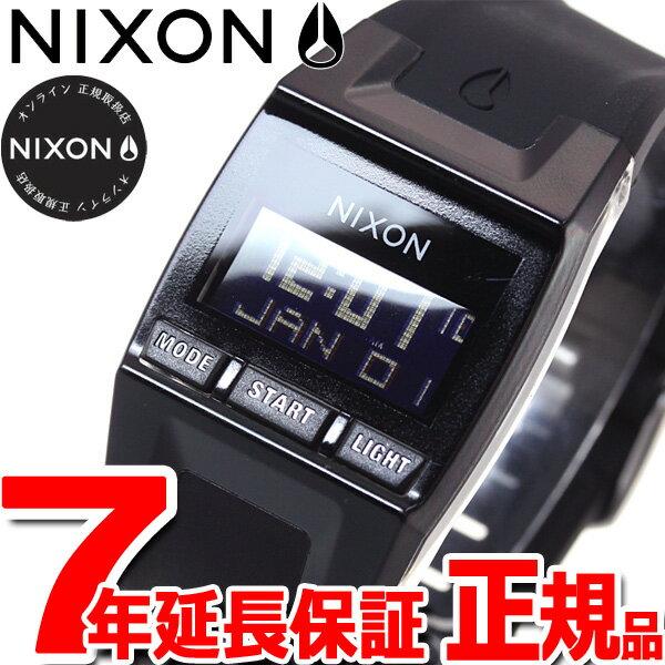 ニクソン NIXON コンプS COMP S 腕時計 レディース ブラック デジタル NA336000-00