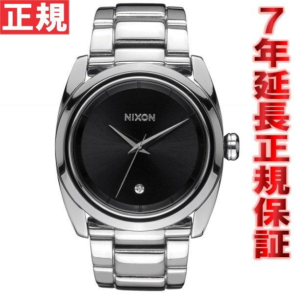 ニクソン NIXON クイーンピン QUEENPIN 腕時計 レディース ブラック NA935000-00