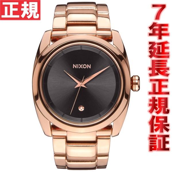 ニクソン NIXON クイーンピン QUEENPIN 腕時計 レディース オールローズゴールド/ガンメタル NA9352046-00