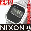 NIXON RE-RUN (リ・ラン) ブラック ニクソン 腕時計 メンズ NA158000-00【あす楽対応】【即納可】