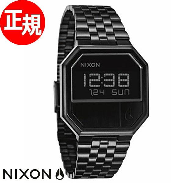【楽天ショップオブザイヤー2017大賞受賞!】NIXON RE-RUN (リ・ラン) ニクソン NIXON 腕時計 メンズ NA158001-00 オールブラック【あす楽対応】【即納可】