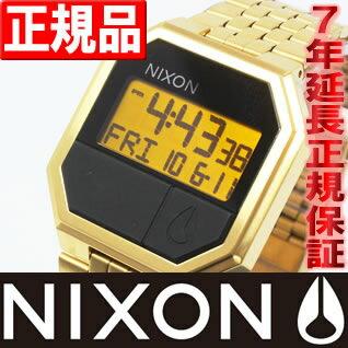 先着!クーポンで最大2千円OFF!+ポイント最大26倍!明日0時スタート!ニクソン NIXON RE-RUN (リ・ラン)ゴールド 腕時計 メンズ NA158502-00 オールゴールド