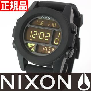 【1000円OFFクーポン!1月18日12時59分まで!】NIXON THE UNIT ユニット ニクソン 腕時計 メンズ ブラック デジタル NA197000-00