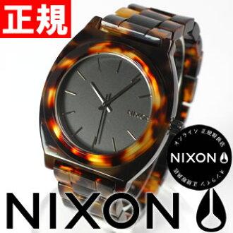 Nixon NIXON time teller p acetate ACETATE TIME TELLER Watch Womens tortoise NA327646-00