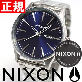 【最大2000円OFFクーポン&エントリーでポイント5倍!24日20時スタート】ニクソン NIXON セントリーSS SENTRY SS 腕時計 メンズ ブルーサンレイ NA3561258-00