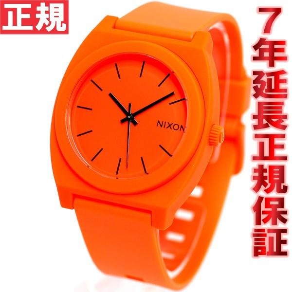 先着!クーポンで最大2千円OFF!+ポイント最大26倍!明日0時スタート!ニクソン NIXON タイムテラーP TIME TELLER P 腕時計 メンズ ネオンオレンジ NA1191156-00