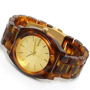 ニクソンNIXONTHETIMETELLERACETATEタイムテラーアセテート腕時計レディースゴールド/モラセスNA3271424-00