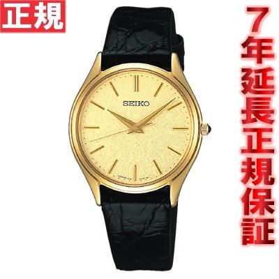 セイコー ドルチェ&エクセリーヌ 腕時計 薄型ペア SEIKO DOLCE&EXCELINE ゴールド SACM150