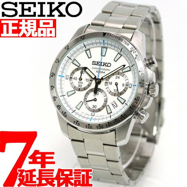 セイコー SEIKO 腕時計 メンズ セイコー 逆輸入 クロノグラフ SSB025P1(SSB025PC)【あす楽対応】【即納可】