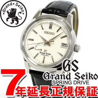 Seiko GRAND SEIKO watch men's spring drive SBGA093