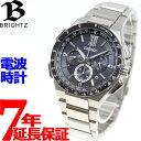 本日限定!2000円クーポン♪セイコー ブライツ SEIKO BRIGHTZ 電波 ソーラー 電波時計 腕時計 メンズ クロノグラフ フライト エキスパート S...