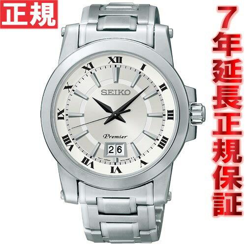 ポイント最大37倍!21日1時59分まで! セイコー プルミエ SEIKO Premier 腕時計 メンズ ペアウォッチ クラシックモダン SCJL001