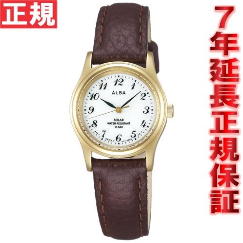 セイコー アルバ SEIKO ALBA ソーラー 腕時計 レディース ペアウォッチ AEGD544【あす楽対応】【即納可】