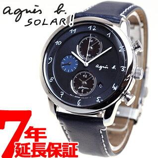 アニエスベー agnes b. ソーラー 腕時計 メンズ マルチェロ クロノグラフ FBRD972【あす楽対応】【即納可】
