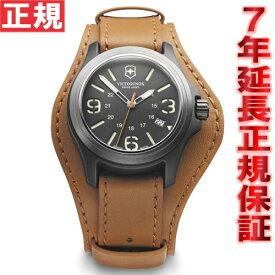 【今だけ!店内ポイント最大48倍!24日1時59分まで】ビクトリノックス VICTORINOX 腕時計 メンズ オリジナル ORIGINAL ヴィクトリノックス スイスアーミー 241593