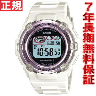 Baby-g Casio baby G Tripper Tripper radio solar watch women's radio wave watches white long Tanikawa j. BGR-3003-7BJF
