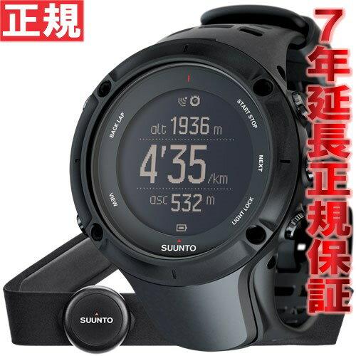 クーポン利用で最大3万円OFF!20日0時から!さらにポイント最大37倍は本日20時より!スント アンビット3 ピーク ブラック (HR) SUUNTO AMBIT3 PEAK BLACK (HR) 腕時計 Bluetooth搭載 GPSウォッチ SS020674000