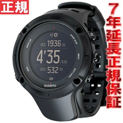 スント アンビット3 ピーク ブラック SUUNTO AMBIT3 PEAK BLACK 腕時計 Bluetooth搭載 GPSウォッチ SS020677000