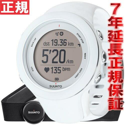 スント アンビット3 スポーツ ホワイト (HR) SUUNTO AMBIT3 SPORT WHITE (HR) 腕時計 Bluetooth搭載 GPSウォッチ SS020680000