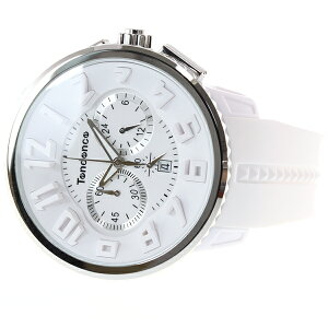 テンデンスTendence腕時計メンズ/レディースガリバーラウンドGULLIVERRoundクロノグラフTG036013
