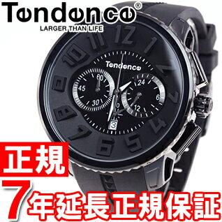 テンデンス Tendence 腕時計 メンズ/レディース ガリバーラウンド GULLIVER Round クロノグラフ TG460010【あす楽対応】【即納可】