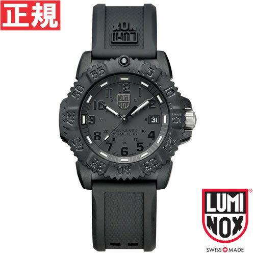 ルミノックス LUMINOX 腕時計 メンズ/レディース ネイビーシールズ NAVY SEALS COLORMARK 38MM 7050 SERIES ブラックアウト 7051Blackout