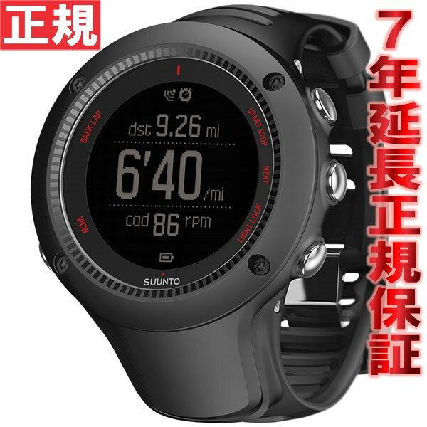 【1000円OFFクーポン!12月21日1時59分まで!】スント アンビット3 ラン ブラック SUUNTO AMBIT3 RAN BLACK 腕時計 Bluetooth搭載 GPSウォッチ SS021256000