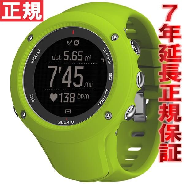 スント アンビット3 ラン ライム SUUNTO AMBIT3 RAN LIME 腕時計 Bluetooth搭載 GPSウォッチ SS021260000