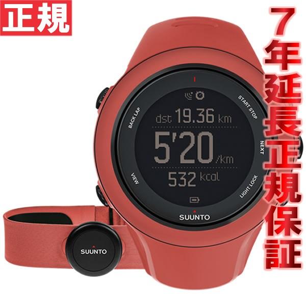 スント アンビット3 スポーツ コーラル (HR) SUUNTO AMBIT3 SPORT CORAL (HR) 腕時計 Bluetooth搭載 GPSウォッチ SS021469000