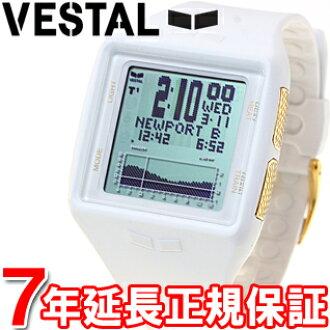 维斯塔维斯手表手表男式双桅横帆船桅 14 K 金数字维斯塔 BRGOLD02