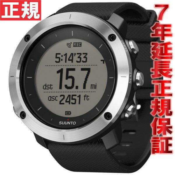 【楽天ショップオブザイヤー2017大賞受賞!】スント トラバース ブラック SUUNTO TRAVERSE BLACK 腕時計 GPSウォッチ Bluetooth搭載 SS021843000