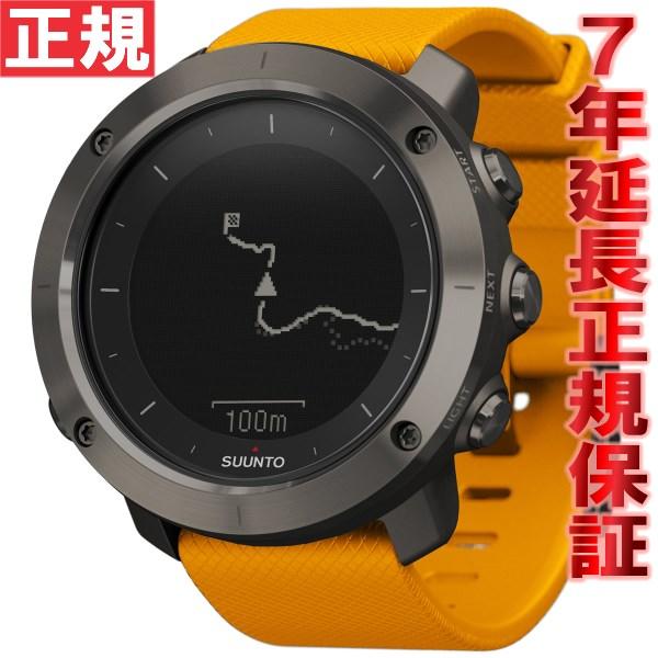 クーポン利用で最大3万円OFF!20日0時から!さらにポイント最大37倍は本日20時より!スント トラバース アンバー SUUNTO TRAVERSE AMBER 腕時計 GPSウォッチ Bluetooth搭載 SS021844000