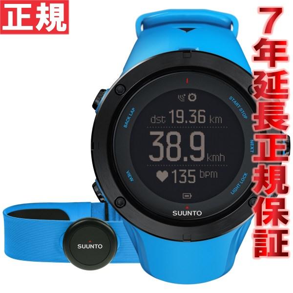 スント アンビット3 ピーク サファイアブルー (HR) SUUNTO AMBIT3 PEAK SAPPHIRE BLUE (HR) GPSウォッチ Bluetooth搭載 腕時計 SS022305000