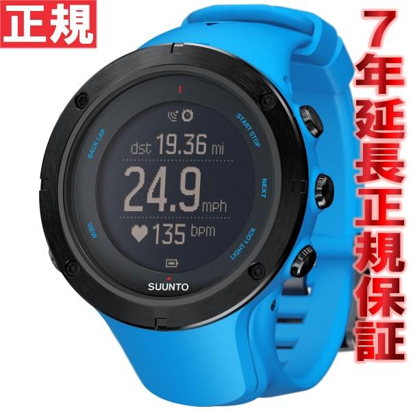 クーポン利用で最大3万円OFF!20日0時から!さらにポイント最大37倍は本日20時より!スント アンビット3 ピーク サファイアブルー SUUNTO AMBIT3 PEAK SAPPHIRE BLUE GPSウォッチ Bluetooth搭載 腕時計 SS022306000