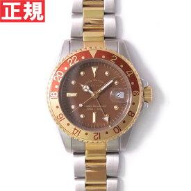 ヴァーグウォッチ VAGUE WATCH Co. 腕時計 BRWN GMT(ブラウンGMT) ステンレスベルト BG-L-001-SB